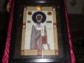 Ikona na środku cerkwi