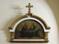 kiot z obrazem Trójcy Świetej, olej, XIX w.