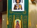 chorągiew 2, św. Mikołaj