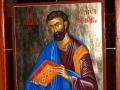 Ikonostas, Św. Ewangelista Marek. Autor ks. Marek Bonifatiuk.
