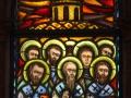 Opieka Matki Bożej, Zastępy Świętych (lewy)