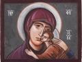 Matka Boża Eleusa,  Elżbieta Zduńczyk, 2016