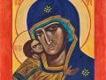 Włodzimierska Ikona Matki Bożej. Wanda Hüpner, Warsztaty 2008.